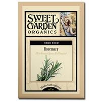 Sweet Garden Organics Seeds - Rosemary