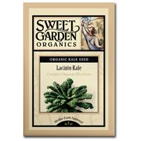 Sweet Garden Organics Seeds - Lacinto Kale