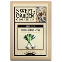 Sweet Garden Organics Seeds - American Flag Leeks