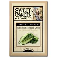 Sweet Garden Organics Seeds - Parris Island Cos Romaine Lettuce