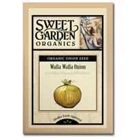 Sweet Garden Organics Seeds - Walla Walla Onion