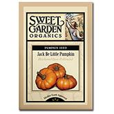 Sweet Garden Organics Seeds - Jack Be Little Pumpkin