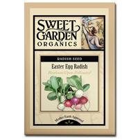 Sweet Garden Organics Seeds - Easter Egg Radish