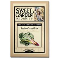 Sweet Garden Organics Seeds - Rainbow Swiss Chard