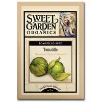 Sweet Garden Organics Seeds - Tomatillo