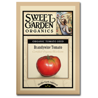 Sweet Garden Organics Seeds - Brandywine Tomato