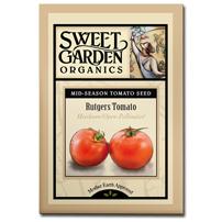 Sweet Garden Organics Seeds - Rutgers Tomato