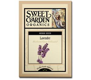 Sweet Garden Organics Seeds - Lavender