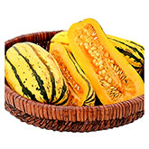 Territorial Seeds - Delicata Winter Squash