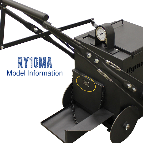 RynoWorx RY10 MA model number.