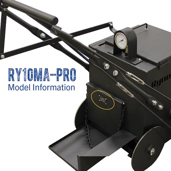 RynoWorx RY10MA PRO model number.