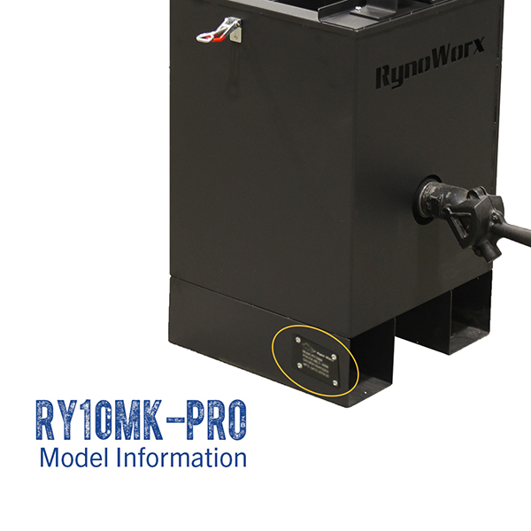RynoWorx RY10MK-PRO model number.
