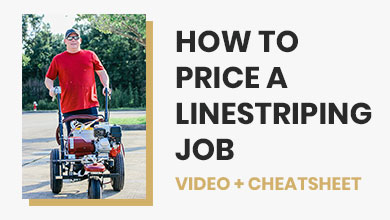 How to Price Linestriping Jobs