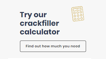 Calculate how much crack sealer you will need