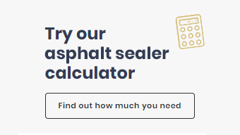 Calculate how much asphalt sealer you will need