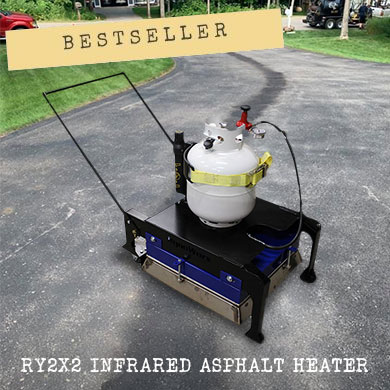 The best-selling machine in this category is the RY2X2 Infrared Asphalt Heater