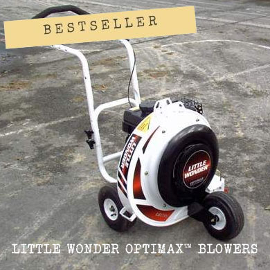 The best-selling machine in this category is the Little Wonder Optimax Blower