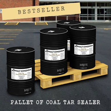 The best-selling supply in this category is the Pallet of Coal Tar Sealer