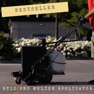 The best-selling machine in this category is the RY10 Pro Crackfill Melter Applicator