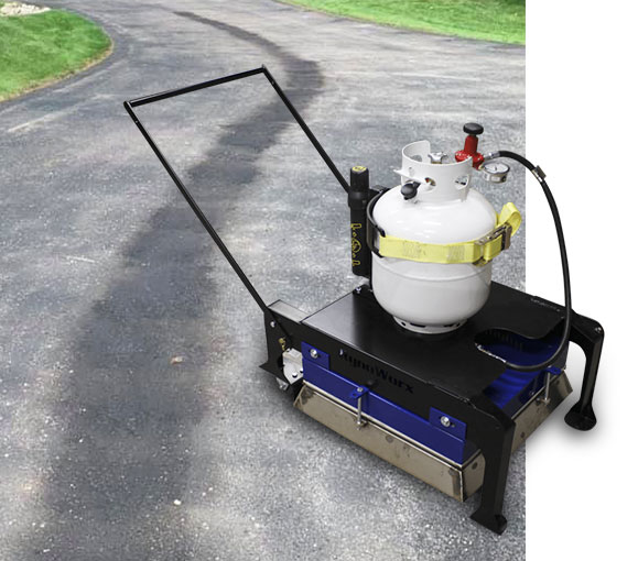 Infrared Heater for repairing asphalt