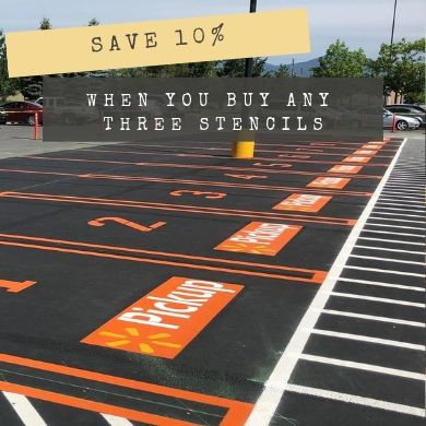 Save 10% when you buy any 3 stencils