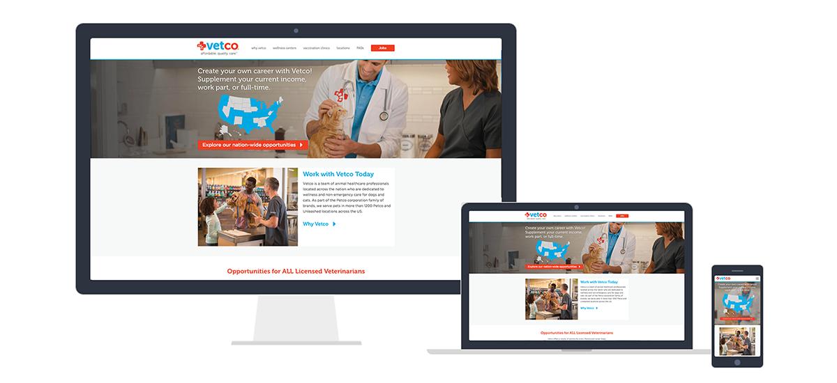 Vetco Website in different formats