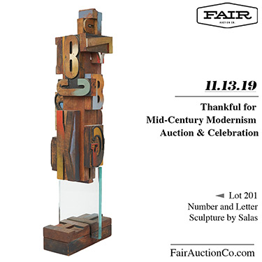 Fair Auction Co of Sterling VA Vintage Midcentury Modern Furniture Auction