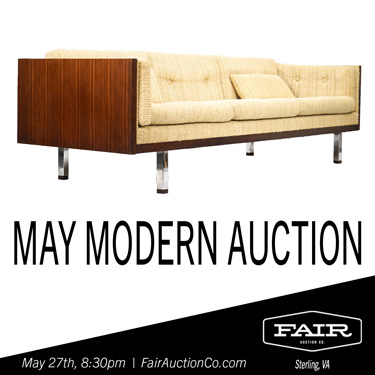 Fair Auction Mid Century Modern Furniture and Decor Sale