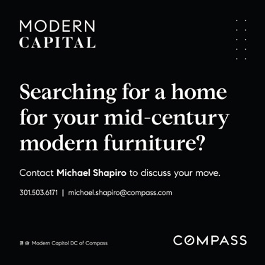 Searching for a Mid-Century Modern Home? Contact Michael Shapiro of Modern Capital and Compass Realty