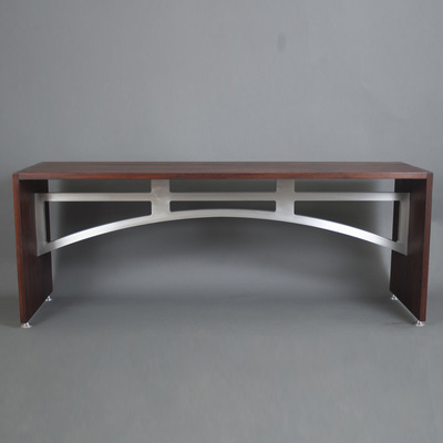 Maryland custom made executive desk from Mosart Fine Art Furniture