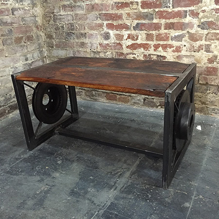DC custom furniture coffee table by Union Artisan