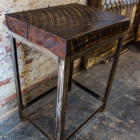 DC custom furniture endtable by Union Artisan