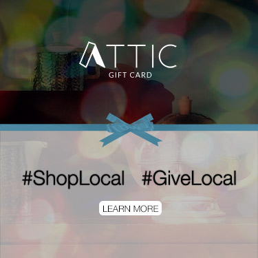 ATTIC Gift Cards: A Unique Gift for Washington DC, Virginia, Maryland and Baltimore