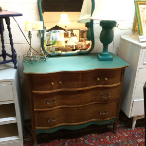 Antique and refinished furniture at the Market House of Rockville Maryland