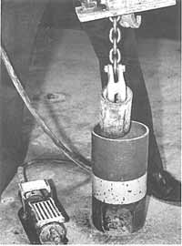 pull anchor press