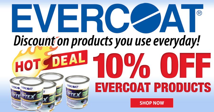 10% Off Evercoat
