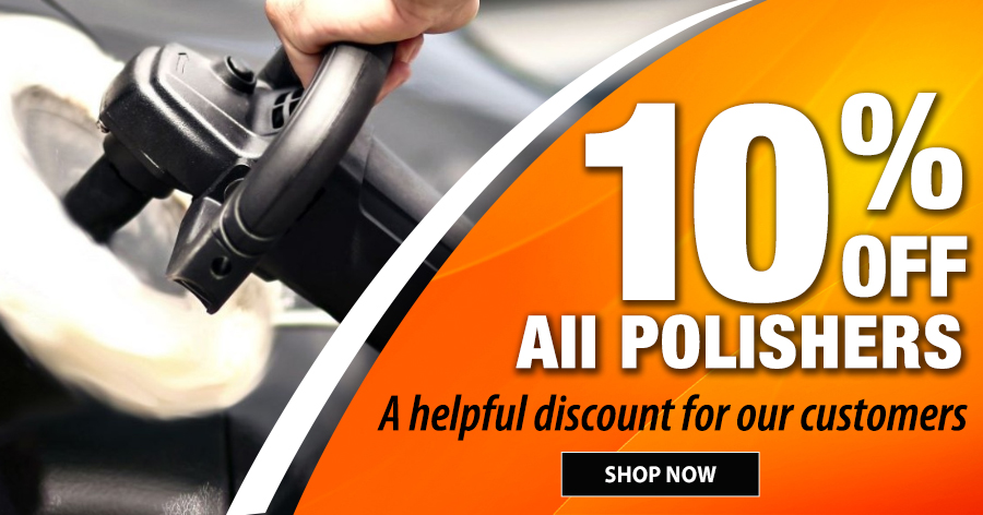 10% off All Polishers