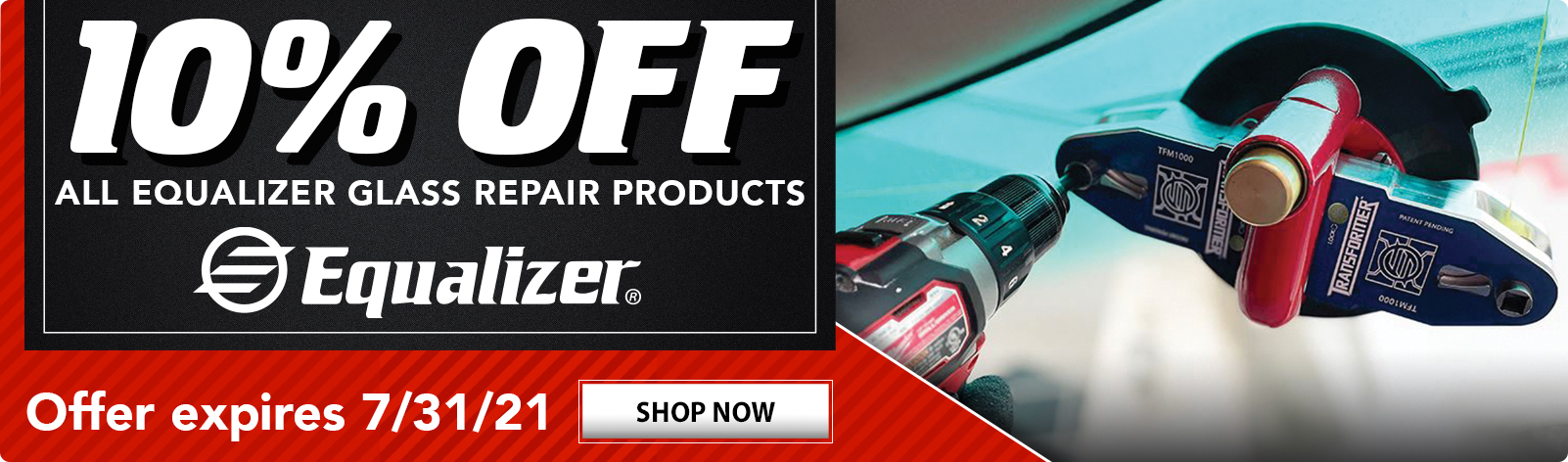 10% OFF All Equalizer Products!