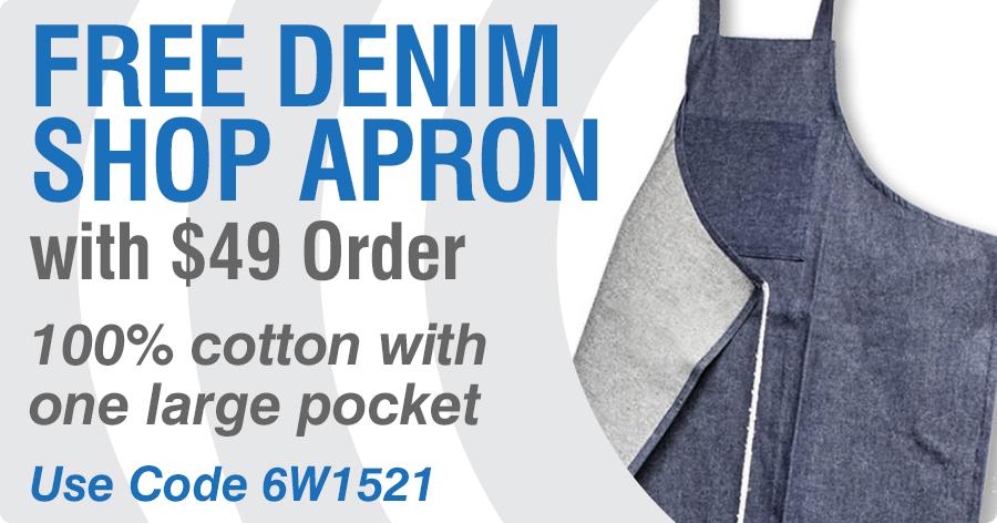 FREE Denim Shop Apron!