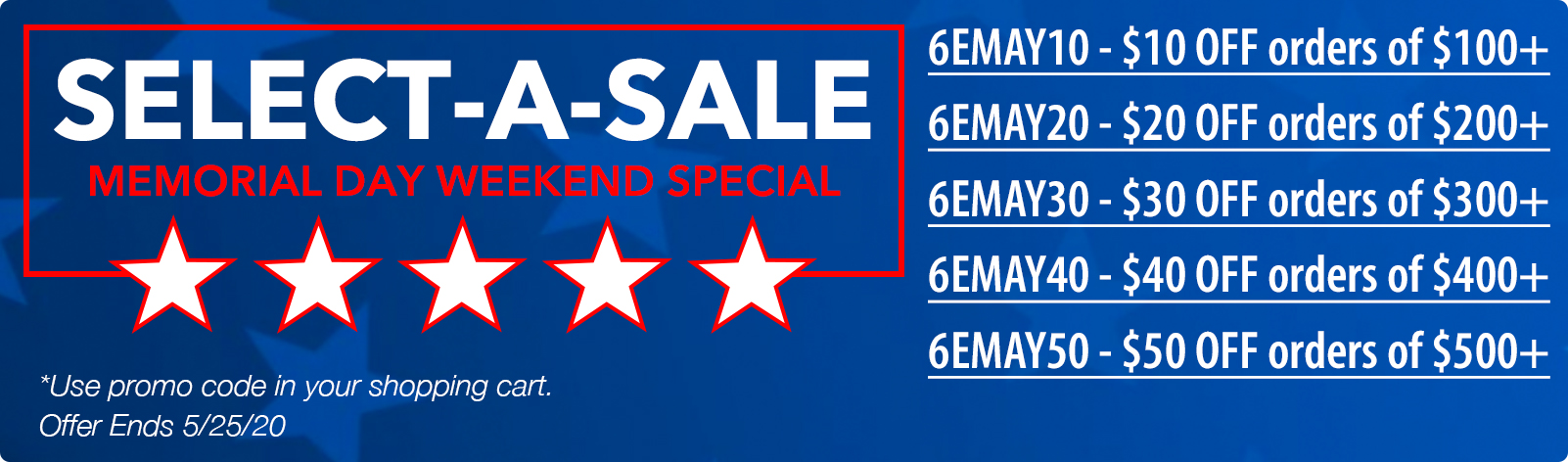 Select A Sale Extended!