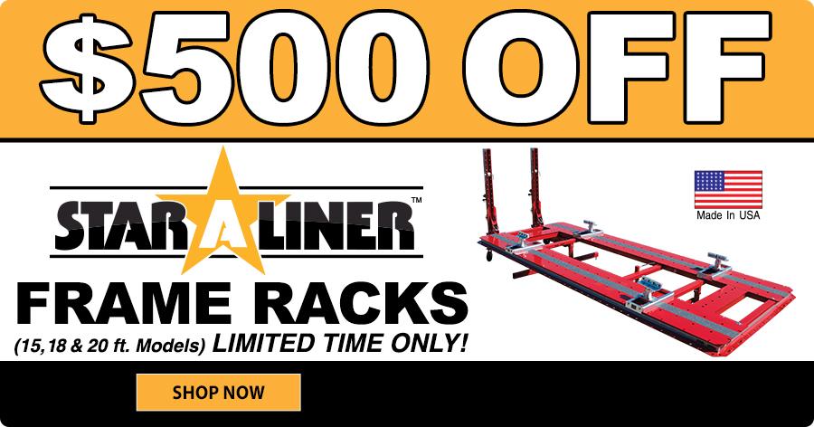 $500 Star A Liner Frame Racks!