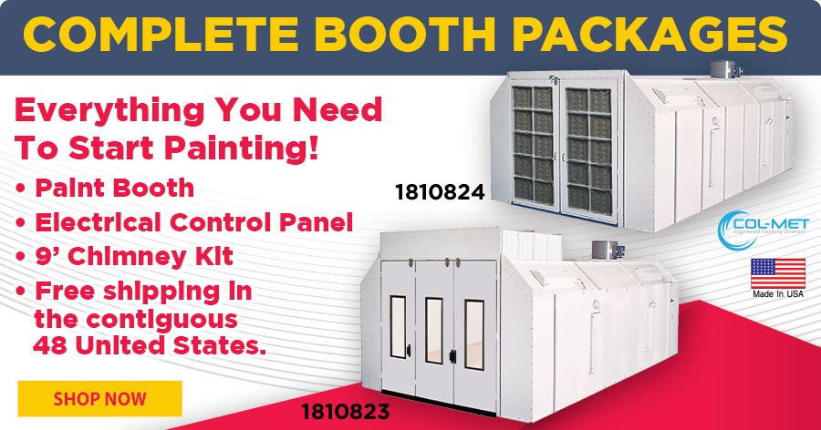 Complete Booth Packages - Everything You Need To Start Painting!