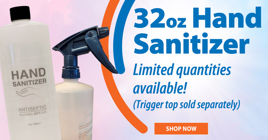 Hand Sanitizer - Limited quanities available!