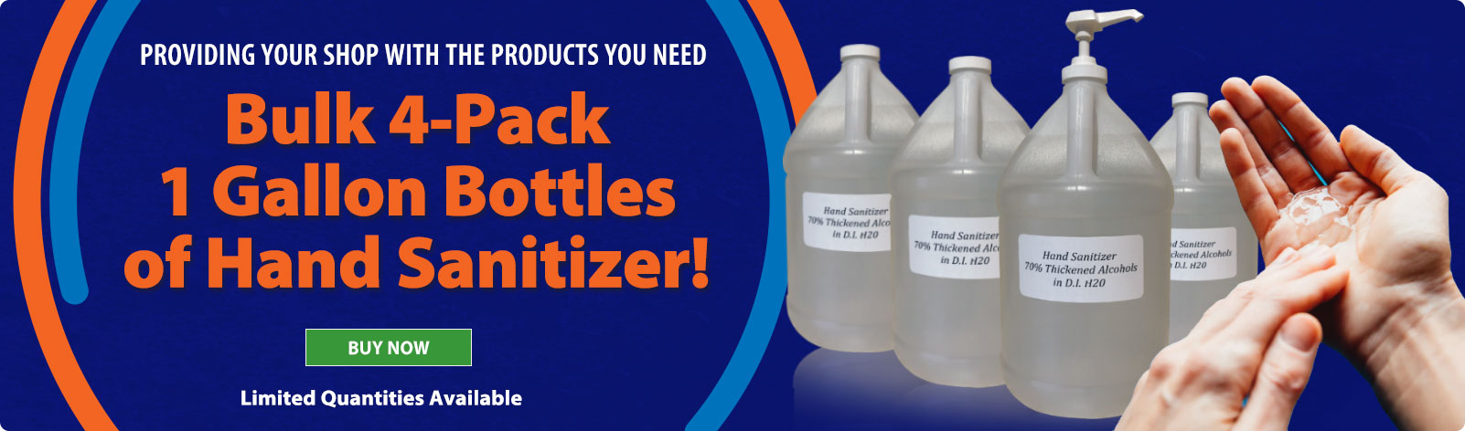 Bulk Hand Sanitizer - Limited quanities available!