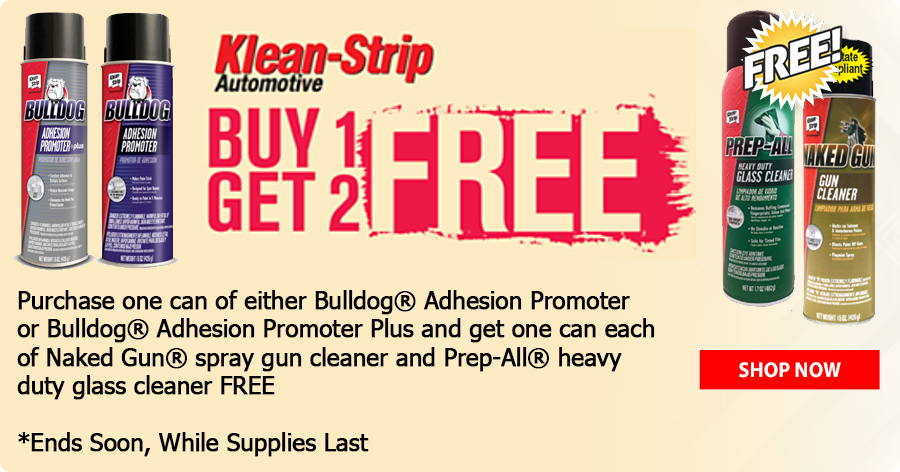 Klean Strip...Buy 1, Get 2 FREE!!