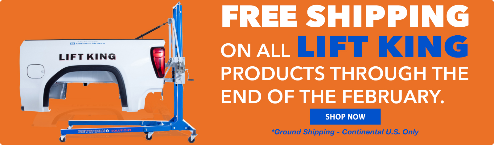 Free Shipping On LIFT KING Through the End of the Year!!