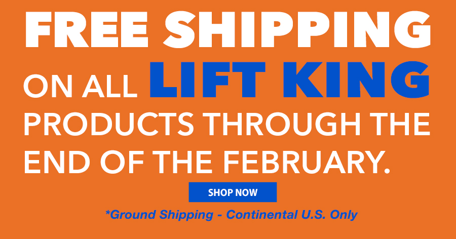 Free Shipping On LIFT KING Through the End of the Year!