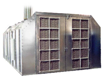 Galvanized Paint Booth