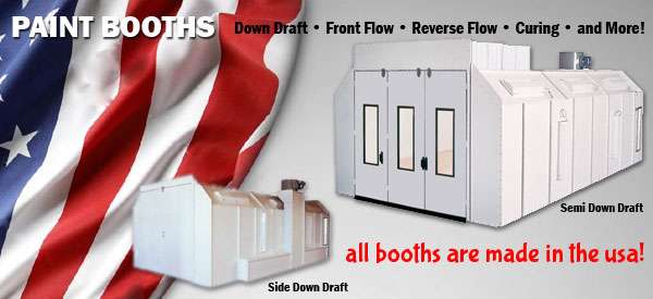 American Made Spray Booths, spray booth, paint booth