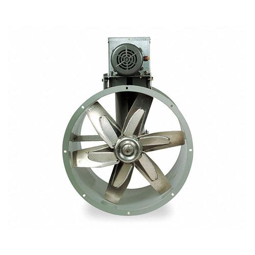 "Dayton 30"" 1-Phase Tubeaxial Fan with Drive Pkg, 230V, 1551 RPM, 5HP"